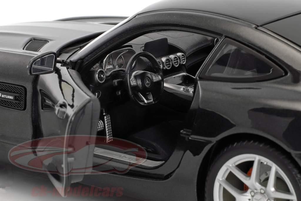 Mercedes-Benz AMG GT nero 1:18 Maisto