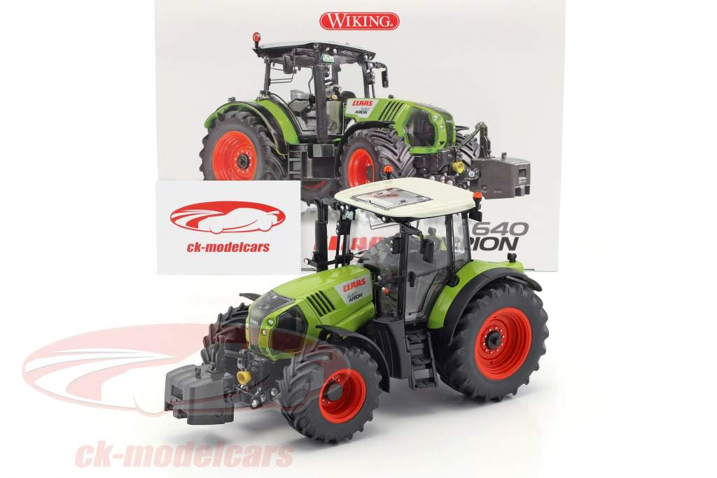 Claas Arion 640 tractor green 1:32 Wiking
