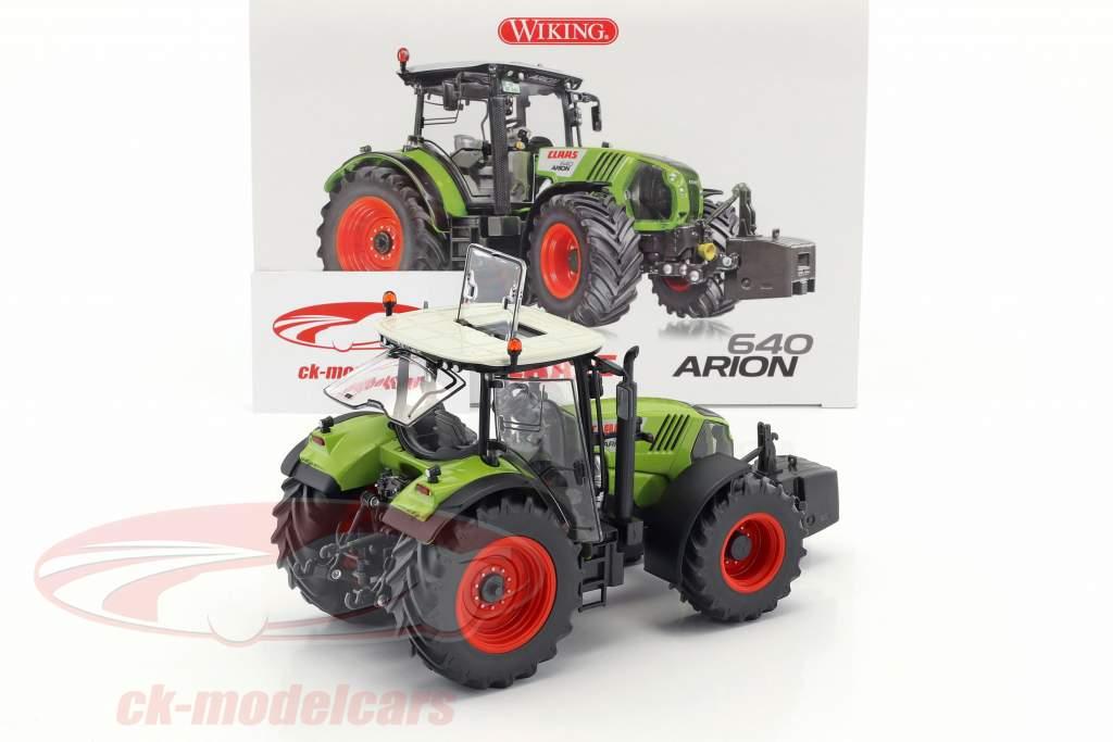 Claas Arion 640 tracteur vert 1:32 Wiking