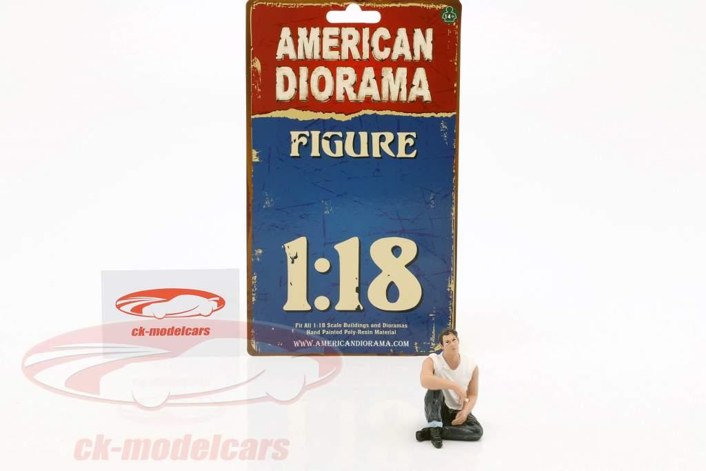 50s Style Figur V 1:18 American Diorama