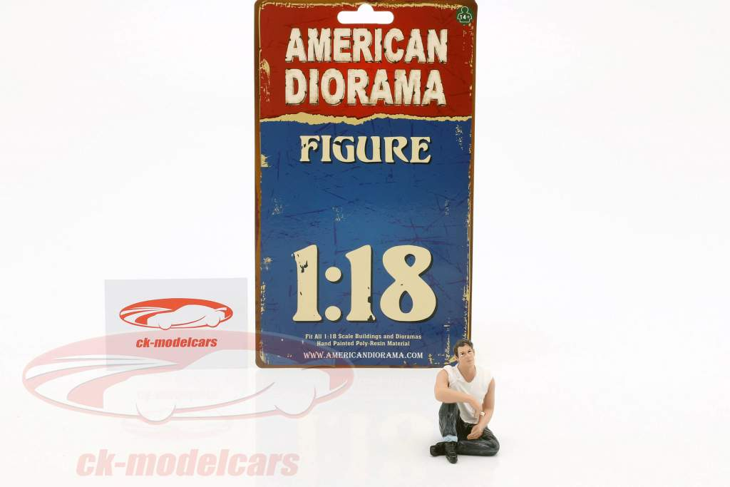 50s Style figuur V 1:18 American Diorama