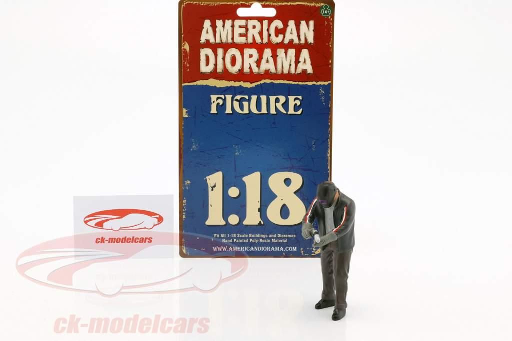 figure Mr. Welder 1:18 American Diorama