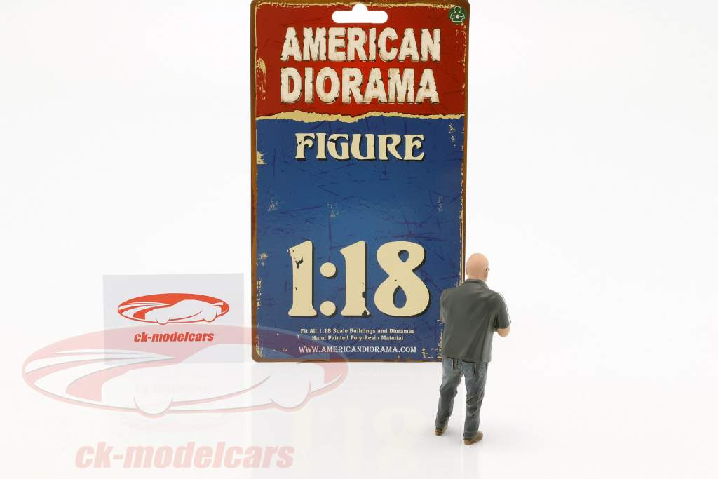 figuur Mr. Frabricator 1:18 American Diorama