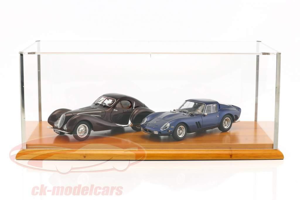 vitrine pour courses Les modèles en 1:18 et Modèles de voitures dans le échelle 1:12 CMC