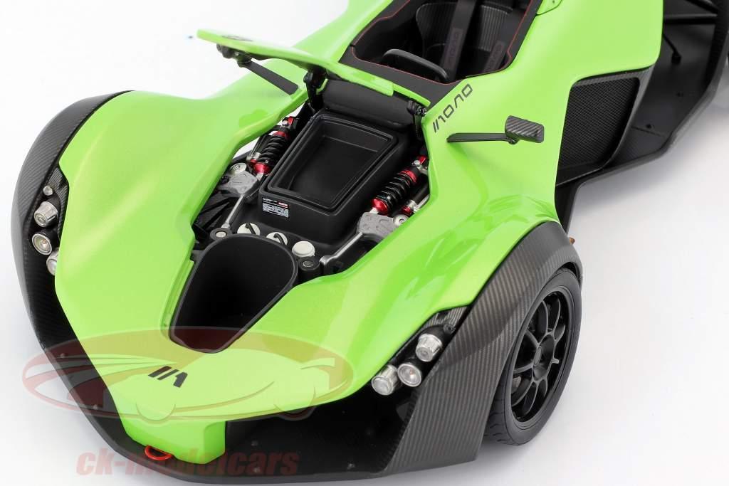 BAC Mono Roadster Baujahr 2011 grün 1:18 AUTOart
