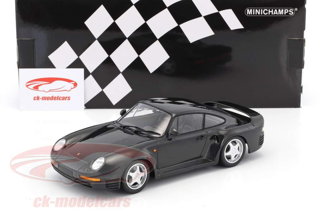 Porsche 959 year 1987 dark gray metallic 1:18 Minichamps