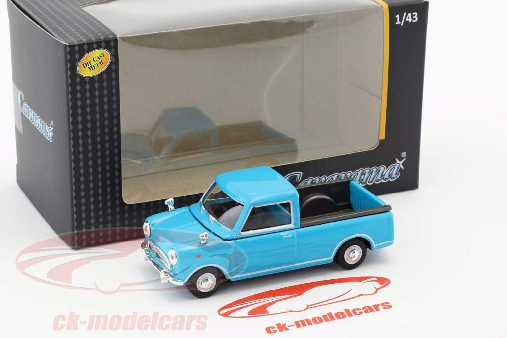 Mini Pick Up lichtblauw 1:43 Cararama