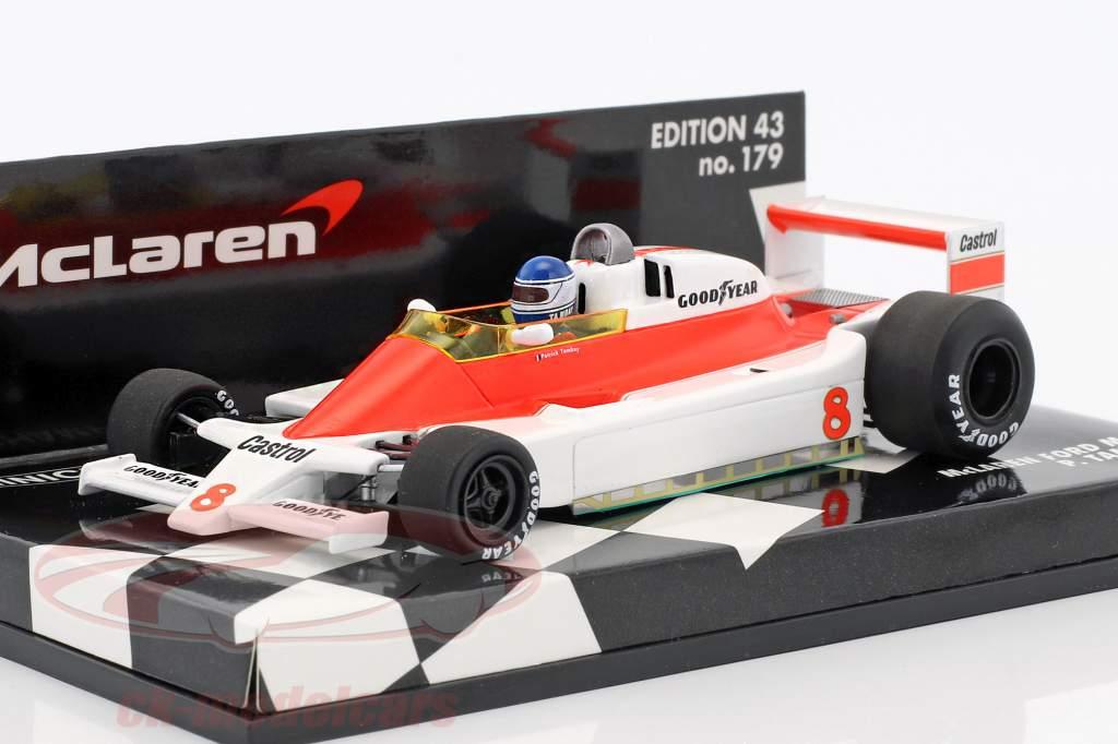 Patrick Tambay McLaren Ford M28 #8 formula 1 1979 1:43 Minichamps