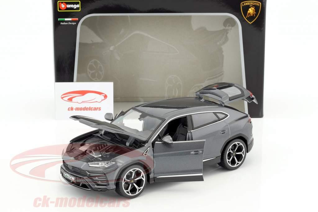 Lamborghini Urus cinza 1:18 Bburago