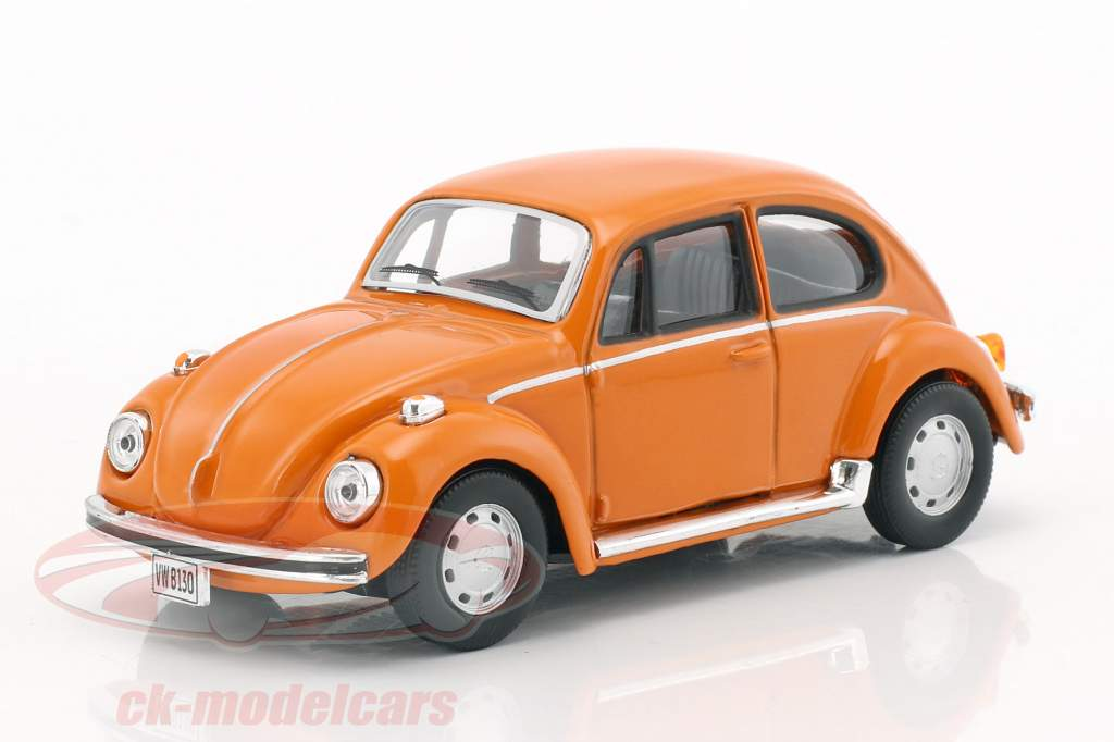 Volkswagen VW Käfer orange 1:43 Cararama