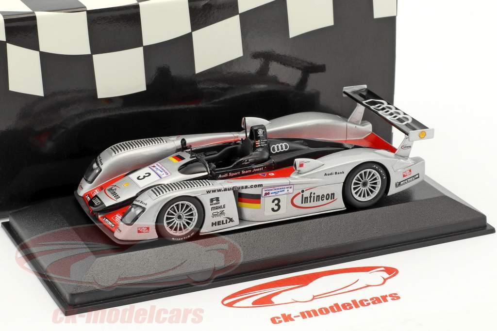 Infineon Audi R8 Team Joest #3 3 24h LeMans 2002 Krumm, Peter, Werner 1:43 Minichamps