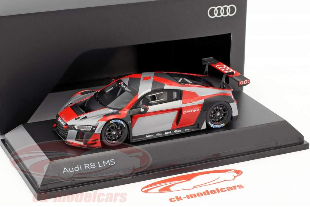 Audi R8 LMS présentation voiture warpaint 1:43 Spark
