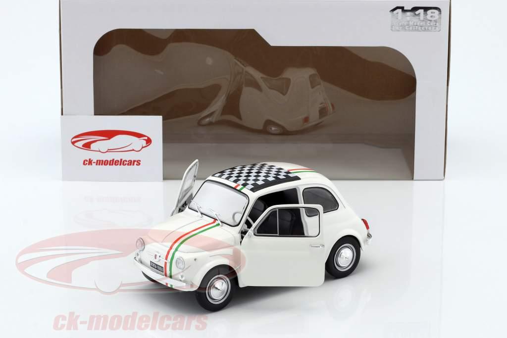 Fiat 500 L Italia anno di costruzione 1968 bianco 1:18 Solido