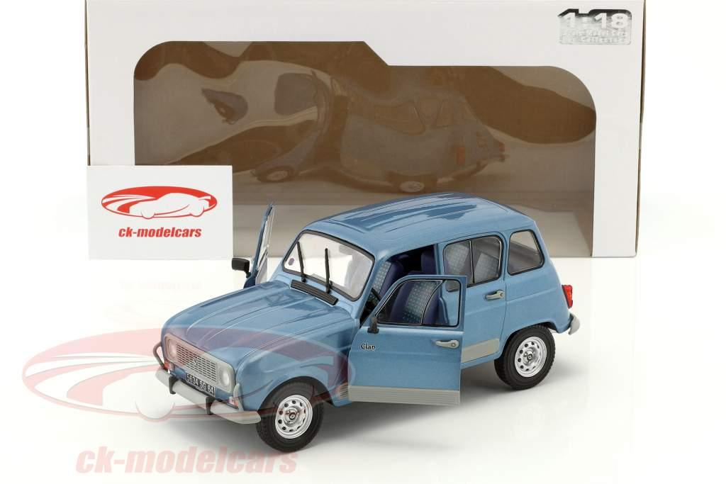 Renault R4 GTL Baujahr 1984 blau 1:18 Solido