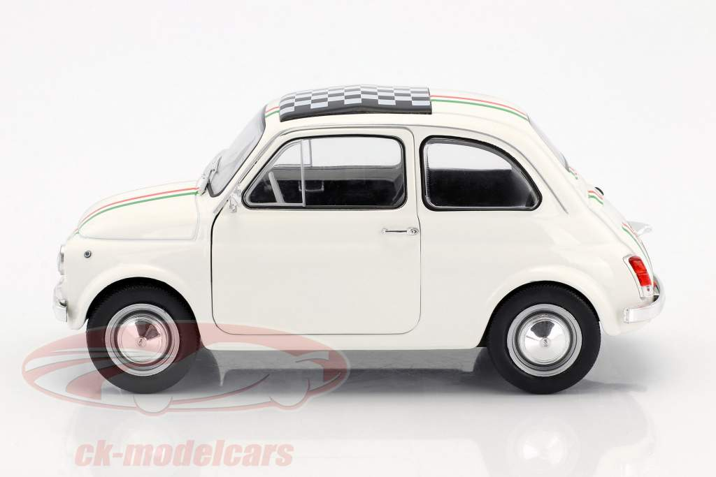 Fiat 500 L Italia année de construction 1968 blanc 1:18 Solido