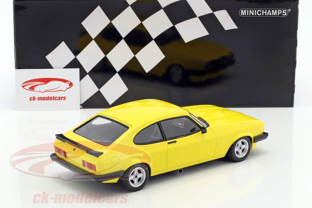 Ford Capri 3.0 anno di costruzione 1978 giallo 1:18 Minichamps