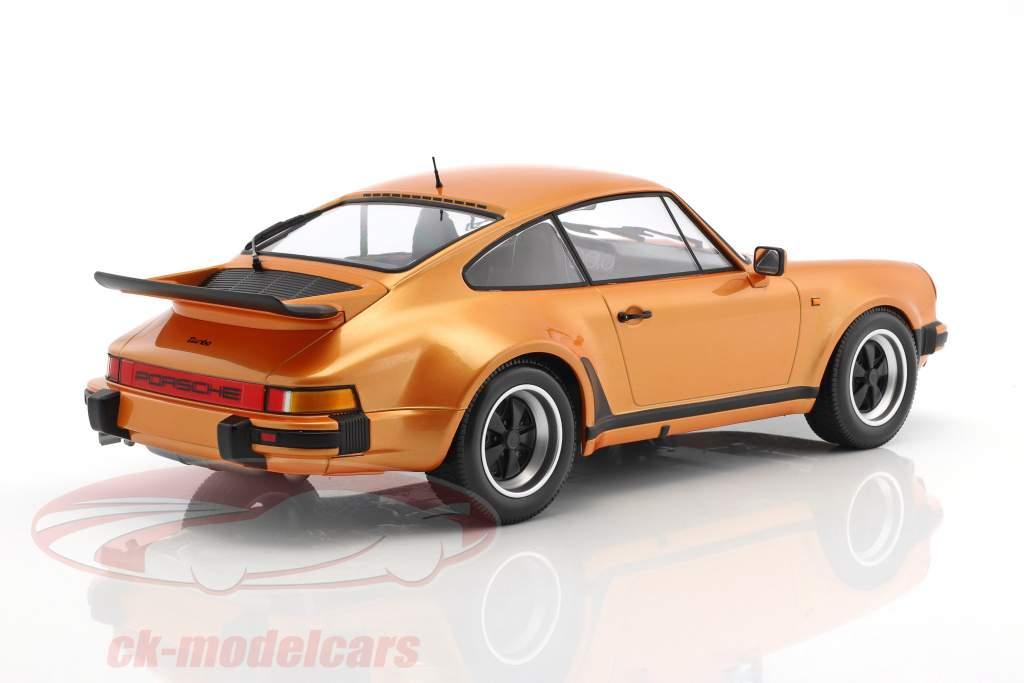 Porsche 911 (930) Turbo year 1977 orange metallic 1:12 Minichamps