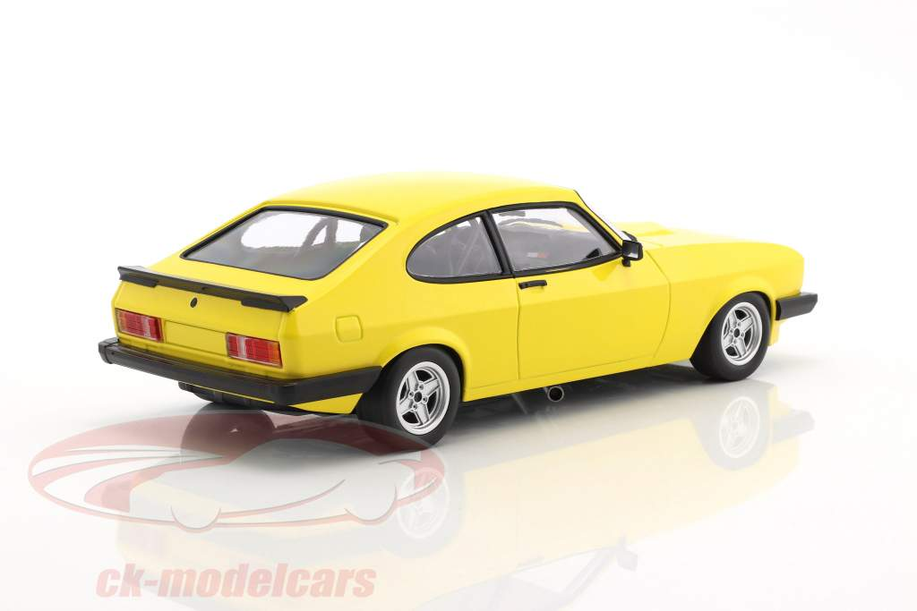 Ford Capri 3.0 year 1978 yellow 1:18 Minichamps