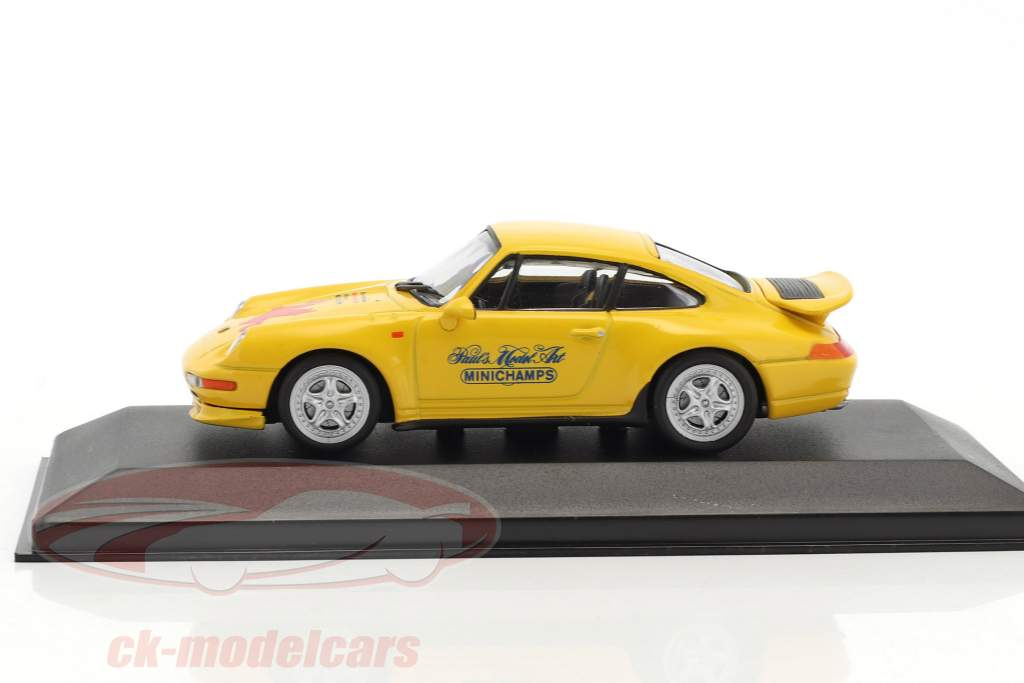 Porsche 911 (993) RS Special Edition Toy Fair Nuremberg 1998 yellow 1:43 Minichamps