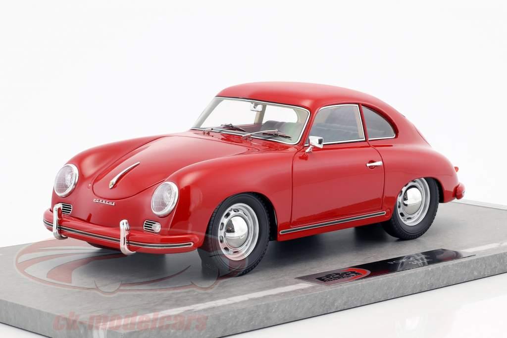 Porsche 356A anno di costruzione 1955 rosso 1:18 BBR