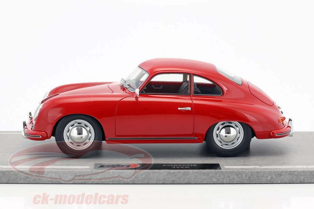 Porsche 356A Baujahr 1955 rot 1:18 BBR