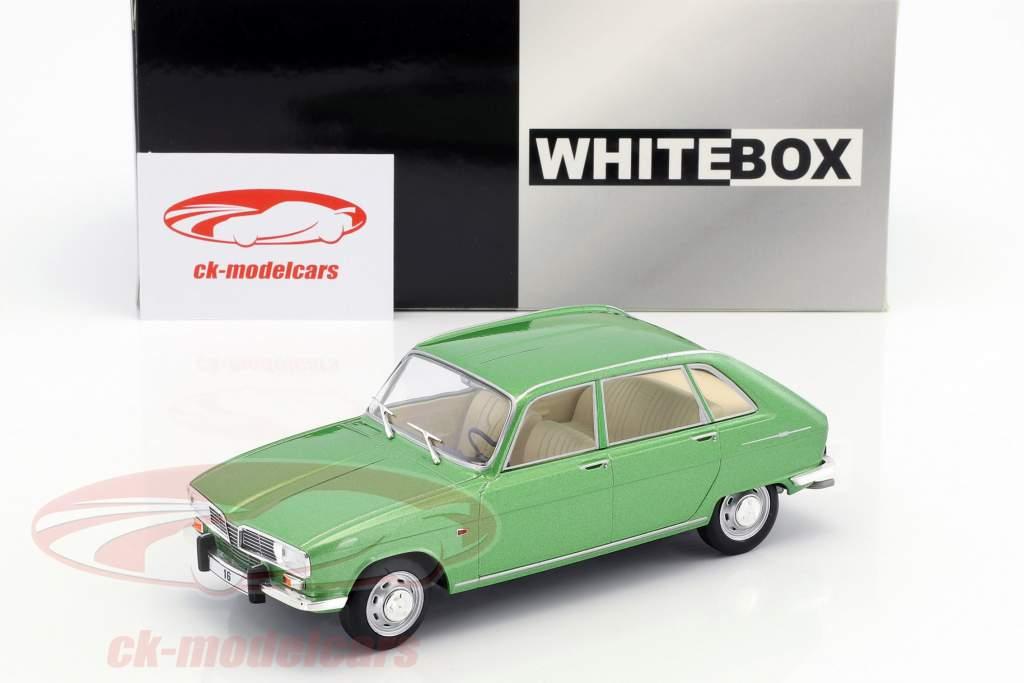 Renault 16 anno di costruzione 1965 calce metallico 1:24 WhiteBox