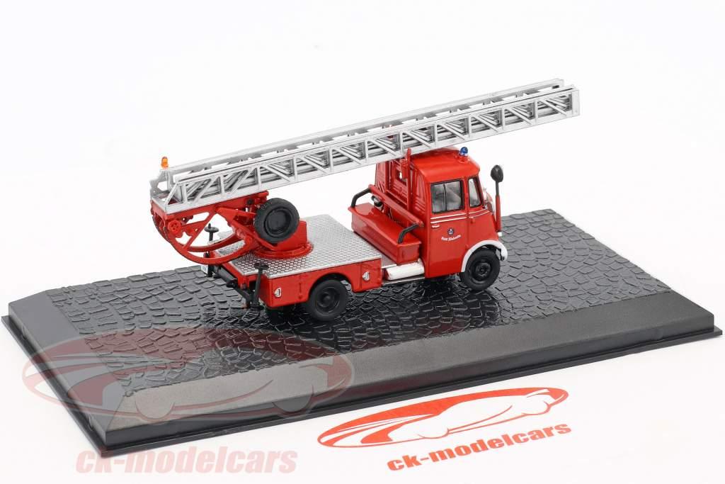 Mercedes-Benz L319 Metz DL18 bombeiros 1:72 Altaya
