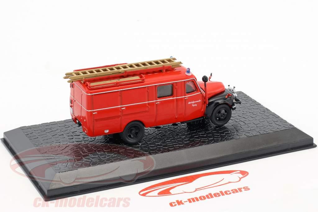 Hanomag AL28 LF8 fábrica departamento de bomberos Töging 1:72 Altaya