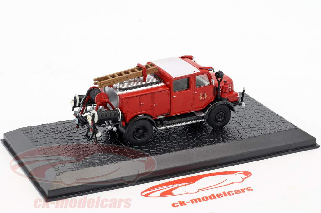 Horch H3A TLF 15 bombeiros 1:72 Altaya