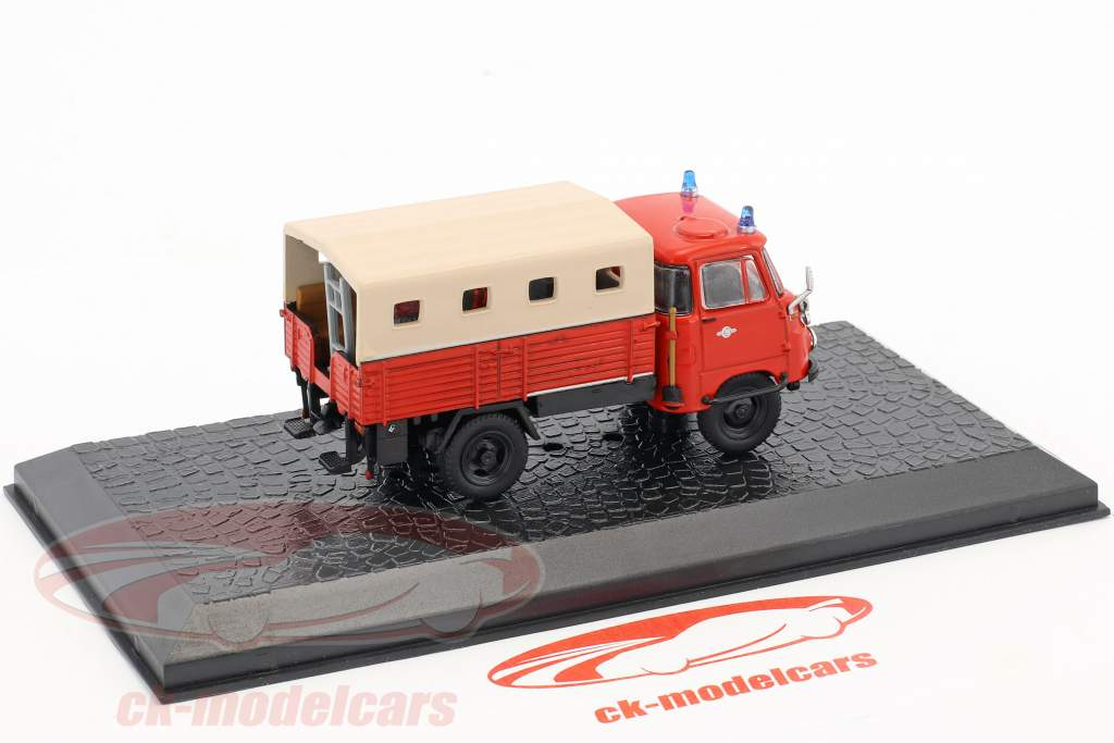 Robur LO 1800-A LF8-STA pompiers 1:72 Altaya