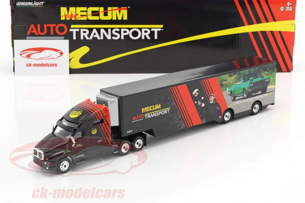 Kenworth T2000 transporter Mecum Auctions Auto Transport 1:64 Greenlight
