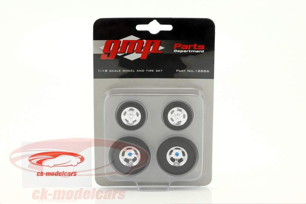 Malco Gasser Wheel and Tire Set 1:18 GMP