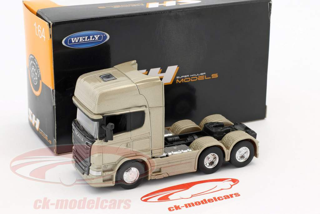 Scania V8 R730 (6x4) or 1:64 Welly