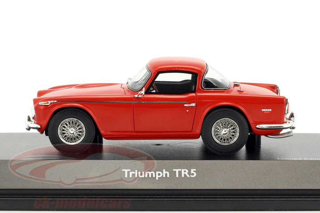 Triumph TR5 closed Top rouge 1:43 Schuco