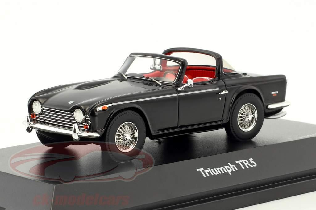 Triumph TR5 open Top nero 1:43 Schuco