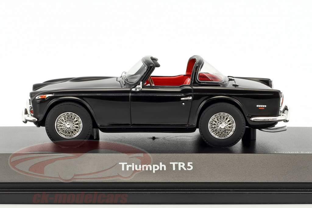 Triumph TR5 open Top schwarz 1:43 Schuco