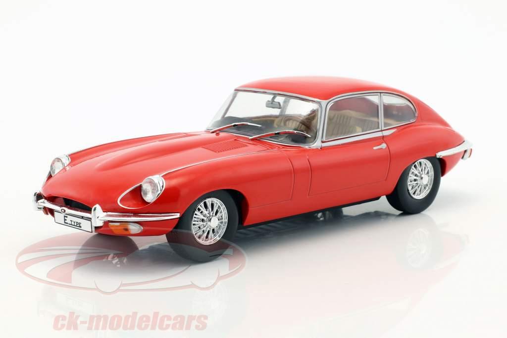 Jaguar E-Type année de construction 1962 rouge 1:24 WhiteBox