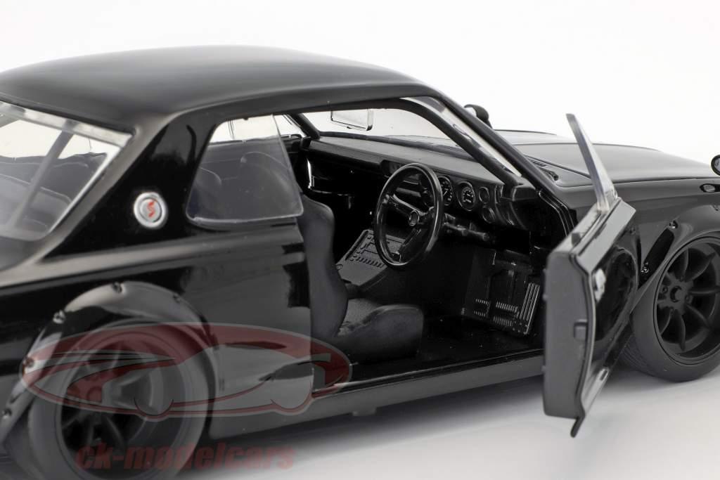 Brian's Nissan Skyline 2000 GTR Movie Fast & Furious Five (2011) black 1:24 Jada Toys