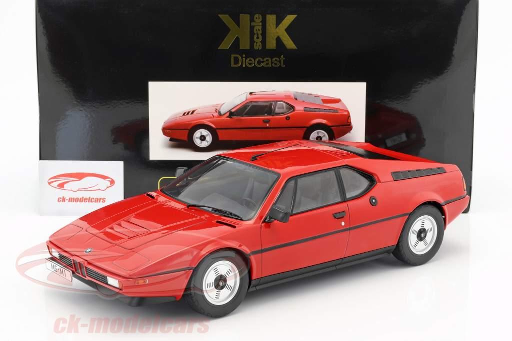 BMW M1 (E26) Street année de construction 1978 rouge 1:12 KK-Scale