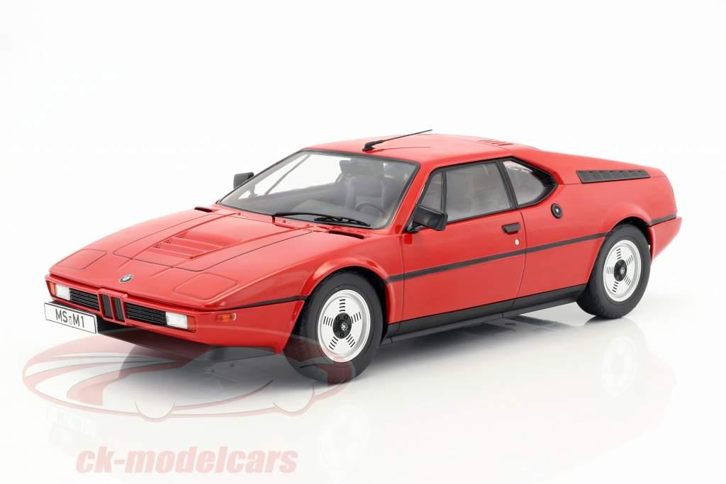BMW M1 (E26) Street ano de construção 1978 vermelho 1:12 KK-Scale