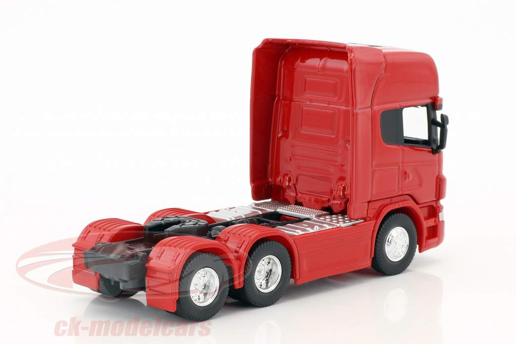 Scania V8 R730 (6x4) rouge 1:64 Welly