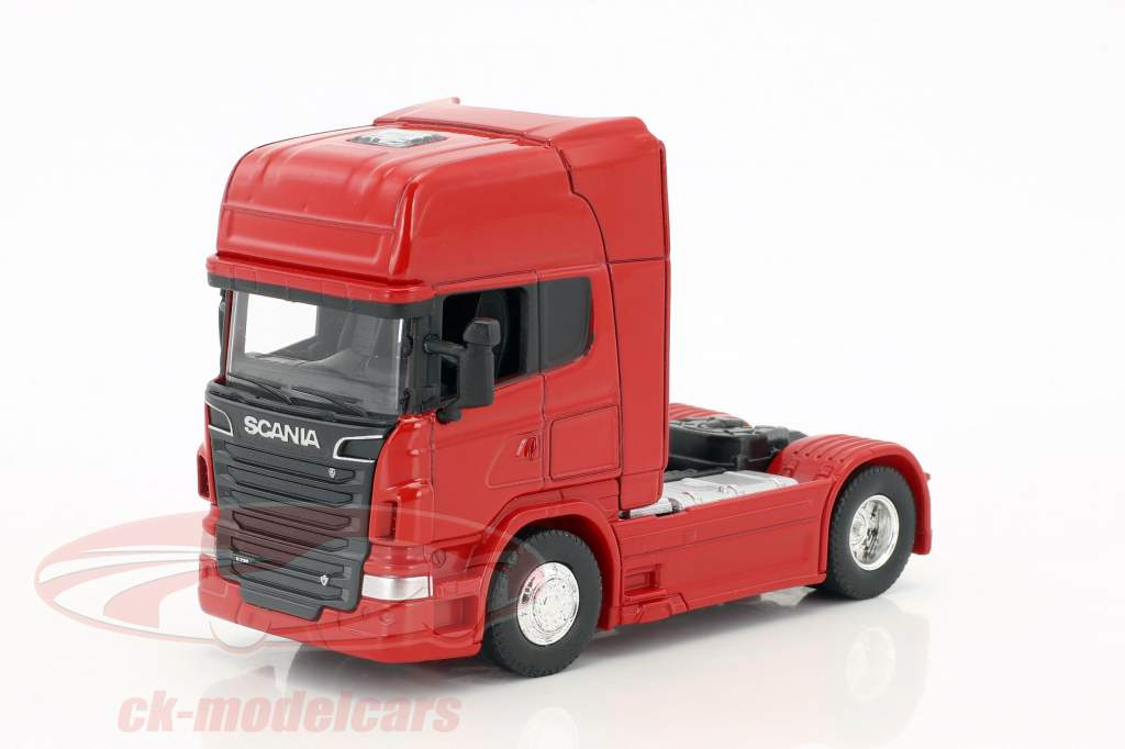 Scania V8 R730 (4x2) rosso 1:64 Welly