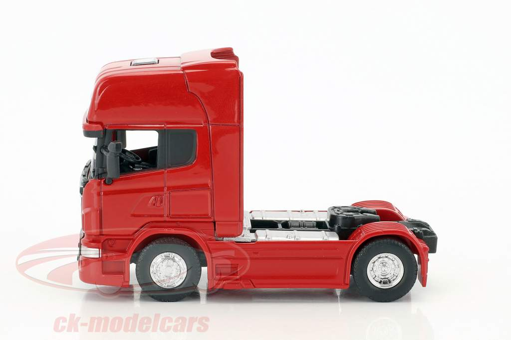 Scania V8 R730 (4x2) rouge 1:64 Welly