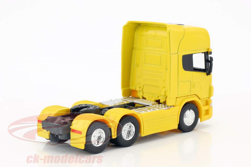 Scania V8 R730 (6x4) yellow 1:64 Welly
