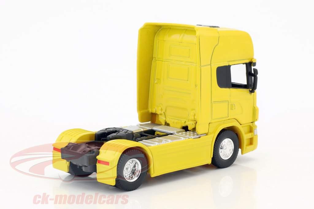 Scania V8 R730 (4x2) giallo 1:64 Welly