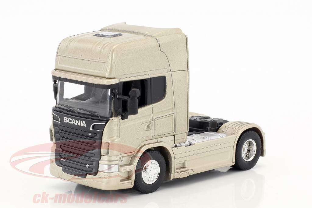 Scania V8 R730 (4x2) gold 1:64 Welly