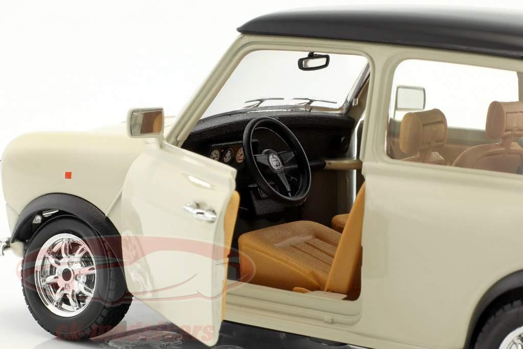 Mini Cooper an 1969 crème 1:18 Bburago