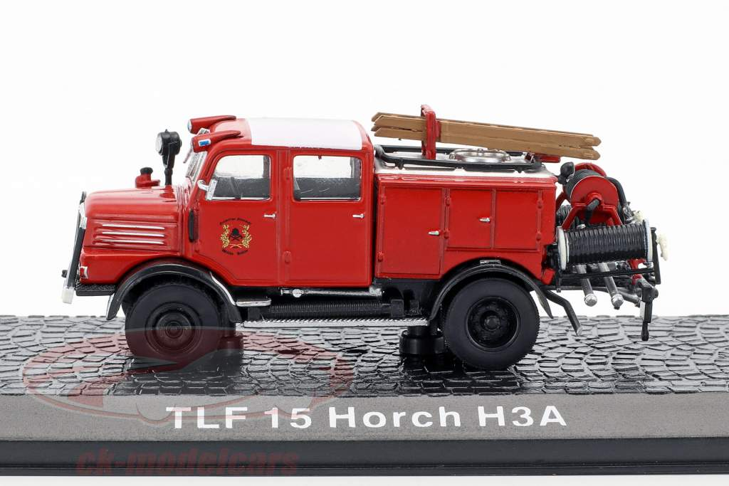 Horch H3A TLF 15 departamento de bomberos 1:72 Altaya