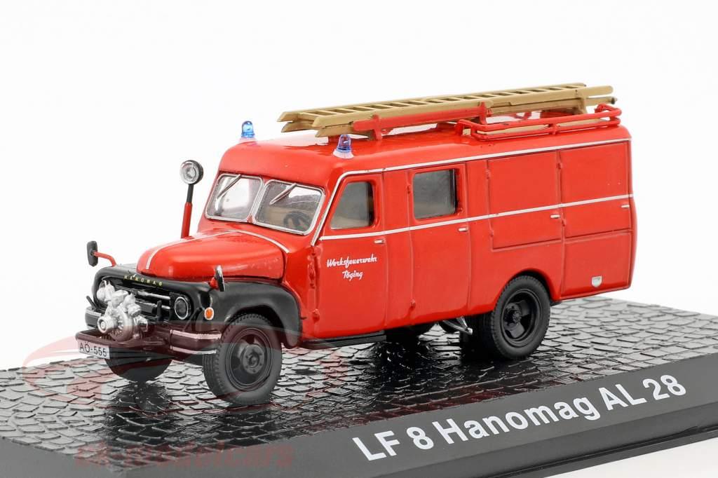 Hanomag AL28 LF8 Werkfeuerwehr Töging 1:72 Altaya