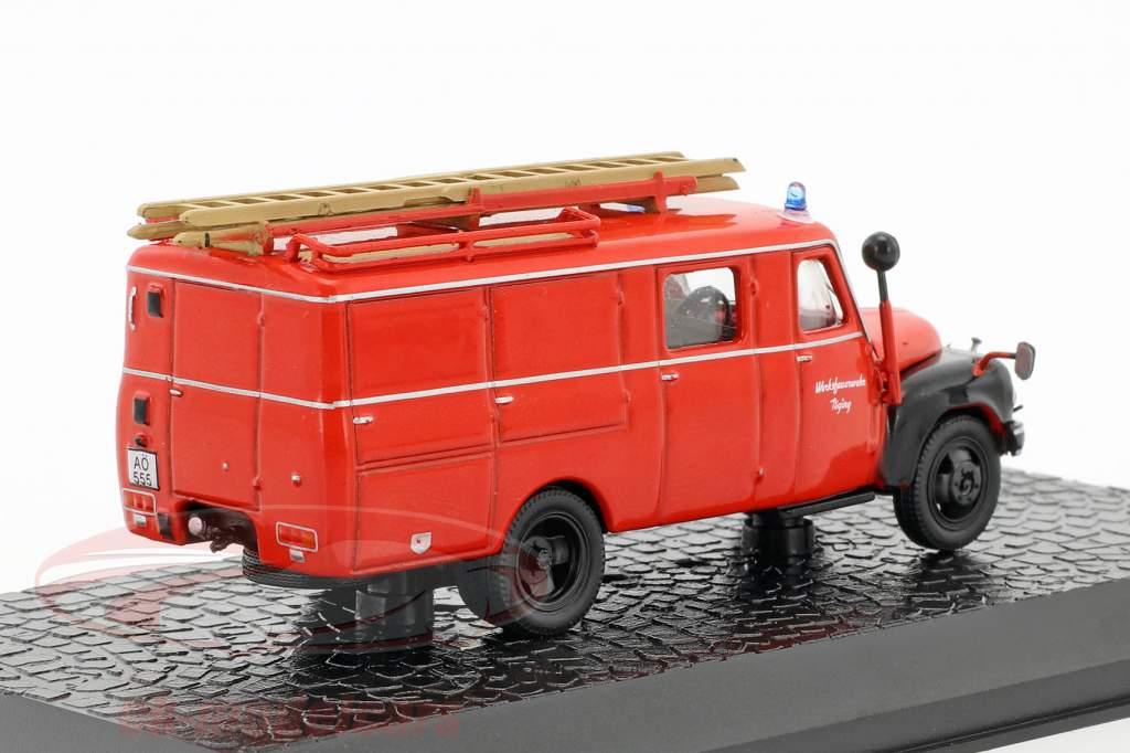 Hanomag AL28 LF8 fabrik brandvæsen Töging 1:72 Altaya